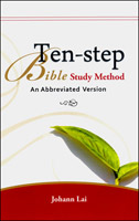 簡易十步釋經法(英文版)Ten-step Bible Study Method: An Abbreviated Version