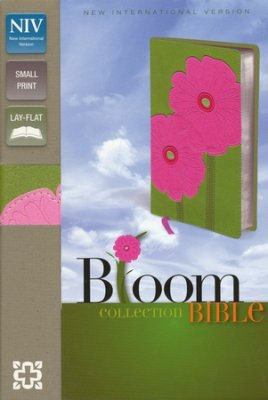 NIV Compact Thinline Bible, Bloom Collection--Gerbera Daisy