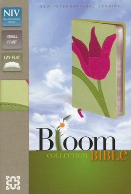 NIV Compact Thinline Bible, Bloom Collection, Tulip Duo-Tone